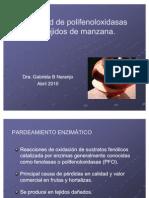 Actividad de PFO en Tejidos de Manzana 2