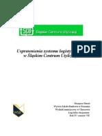 Usprawnienia systemu logistycznego