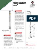 T101 Drilling Machine