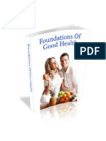 The Foundations of Good Health 2