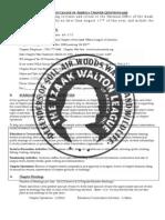 2010 LCC IWLA Questionnaire