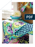 Amy Butler Laminated Picnic Blanket