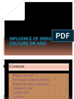 Influence of Indian Culture on Asia