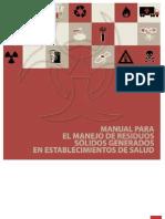 Manual Para El Manejo de Residuos Solidos Generados en Establecimientos de Salud