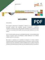 Bases Académicas del III CIEH (09 - 01 - 12) (1)