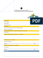 Formulário avaliação pessoal docente word