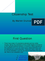 Citizenship Test
