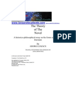 14125956 Georg Lukacs the Theory of the Novel