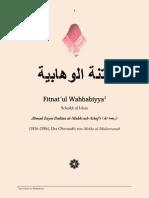 Fitnat ul Wahhabiyya