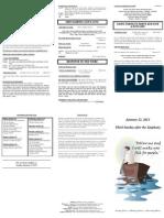 bulletin - 20120122