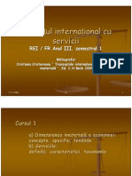 Comert International Cu Servicii