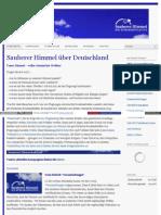 Sauberer Himmel über Deutschland - www_sauberer_himmel_de