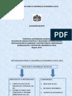 Metodologia Para El Desarrollo Economico