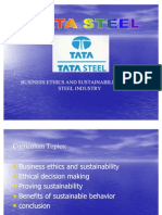 Business Ethics and Sustainability in the Steel Industry