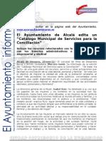 AREA SOCIAL MUJER Catálogo Conciliación