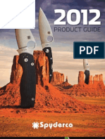 2012 Spyderco 2012 Catalog