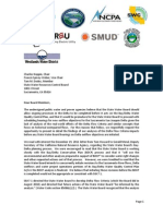 SWRCB Water Power Letter