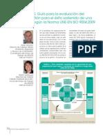 Artículo UNE 66174 Ver2010 ISO 9004 Ver2009