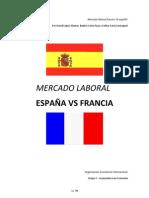 Mercado laboral - España VS Francia