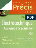 Electrotechnique PSI Par P Brenders-Laurent Douchet-M Sauzeix