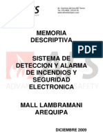Memoria Descriptiva Mall Lamb Ram Ani