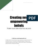 Creating New Beliefs
