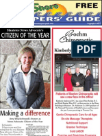 West Shore Shoppers' Guide, January 22, 2012