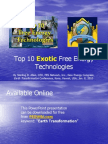 10 Free Energy Technologies