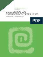 Unidad didáctica Educación para la ciudadanía-Ética-Filosofía sobre los prejuicios