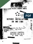 34895017 Defense Installations on Iwo Jima USA 1945
