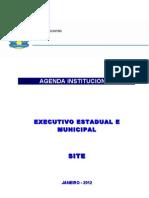 Agenda Institucional - Janeiro 2012 - Atualização SITE