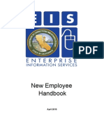 EIS New Employee Handbook