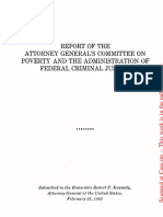 Poverty and the Administration of Federal Criminal Justice