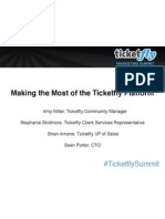 Making the Most of the Ticketfly Platform