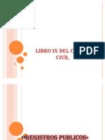 Libro Ix Del Codigo Civil