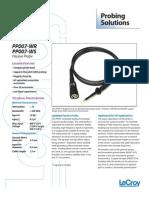 LeCroy PP007 Datasheet