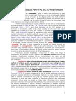 Tema 6- Modelul Personal Sau Trasaturilor