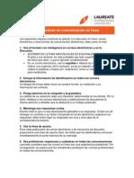10 mejores prácticas en comunicación en línea
