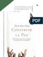 Tich Nhat Hanh - Construir La Paz