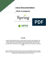 Spring Framework Reference 3.0.0.M1