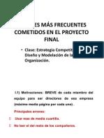 Errores Del Proyecto Final v4.0