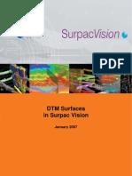 Surpac DTM Surface Tutorial