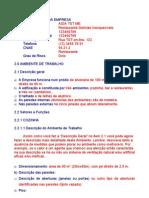 Analise Preliminar Risco (Modelo)