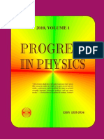 Progress in Physics 2010