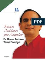 Marco Teran Porcayo Revista La Costa Presidente Buenas Decisiones