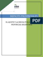 Informe Déficit Provinciales