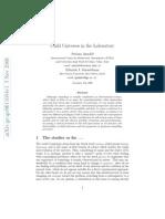 Stefano Ansoldi and Eduardo I. Guendelman- Child Universes in the Laboratory