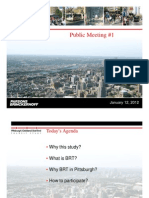 PAAC Study Public Meeting #1 2012-01-11