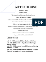 Charterhouse Results January 20 2012
