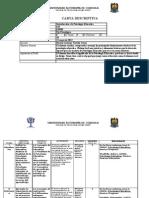 INTRODUCCIÓN A LA PSICOLOGÍA EDUCATIVA Carta descriptiva